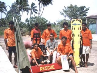 Lifeguards in Goa India