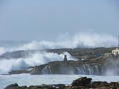 Rough Sea in Goa India