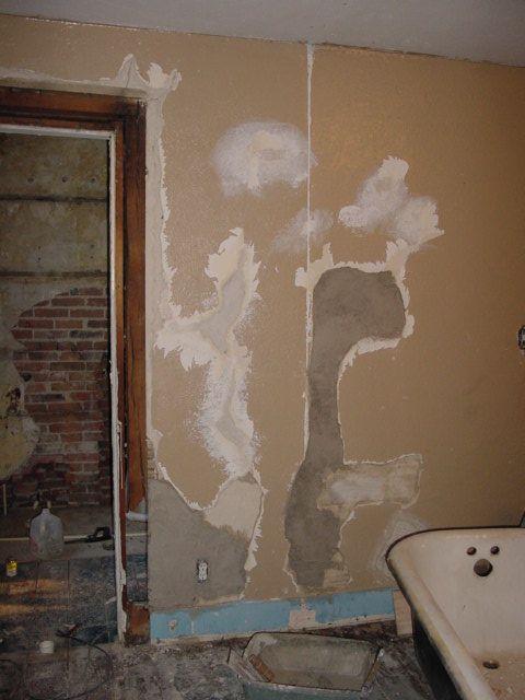 Animal Hair Plaster : This old crack house more plaster stories