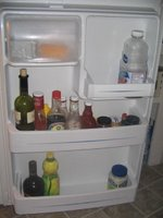 fridge in the morning