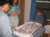 let's play table hockey