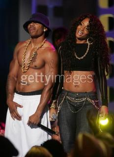 Rap star Nelly and comedian Wanda Sykes portraying LL Cool J and R&B songstress Ciara at the VH1 Hip-hop Honors