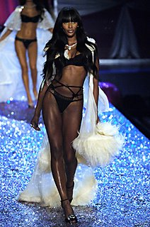 Supermodel Naomi Campbell's turn on a catwalk is always akin to watching Michael Jordan play basketball: Sheer perfection floating above it all.