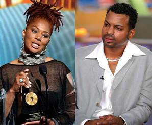 Author Terry McMillan and her now gay ex, Jonathan Plummer, lit up Oprah's TV couch yesterday.