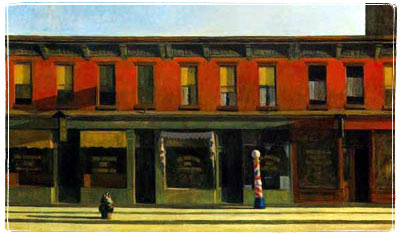 Early Sunday Morning, Edward Hopper