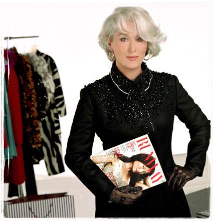 Meryl Streep veste Prada