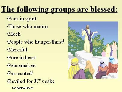 Sermon on the Mount PowerPoint Presentation