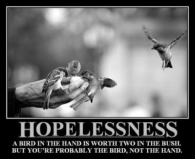 Demotivational Friday Hopelessness