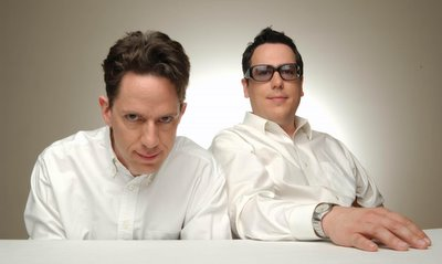 I vaguely look like John Linnell, on the left