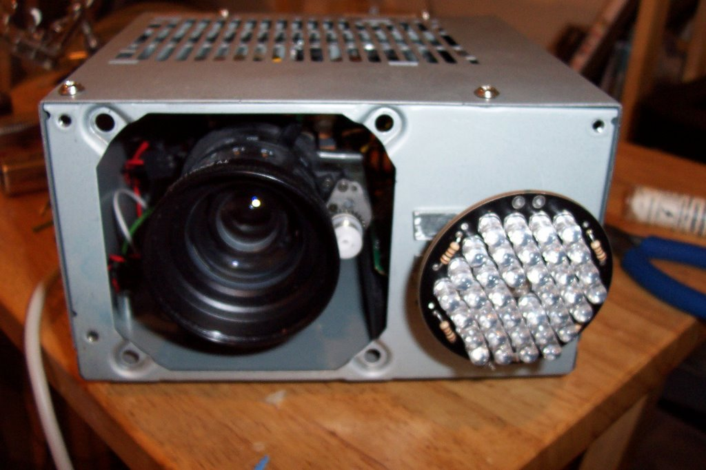 Diy Computers And Electronics Infrared Security Camera