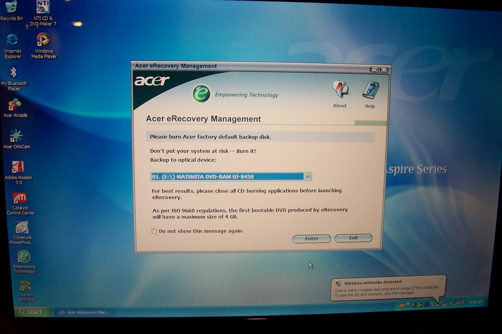 Boot manager recovery software