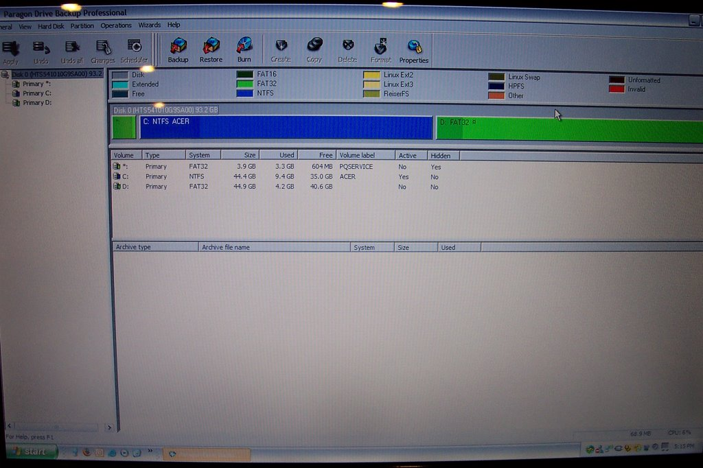 how to delete hard drive partitions for clean install