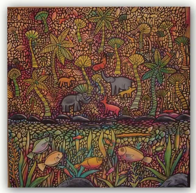 The Batik Paintings of Mat Dollah