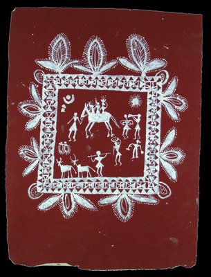 warli wall painting