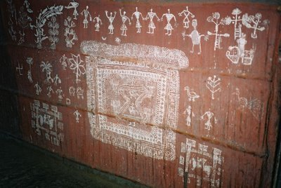 warli contemporary ritual art