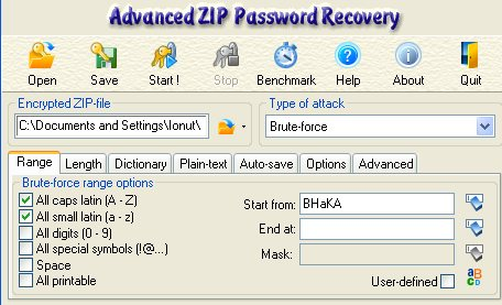 password recovery program