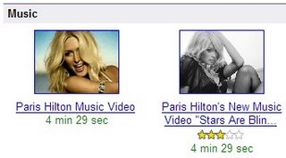 Paris Hilton on Google Video