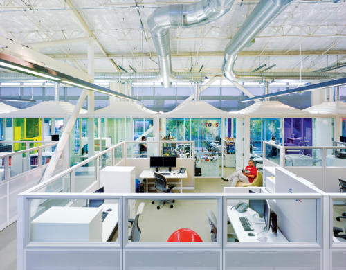 the utopian google offices atmosphere google office
