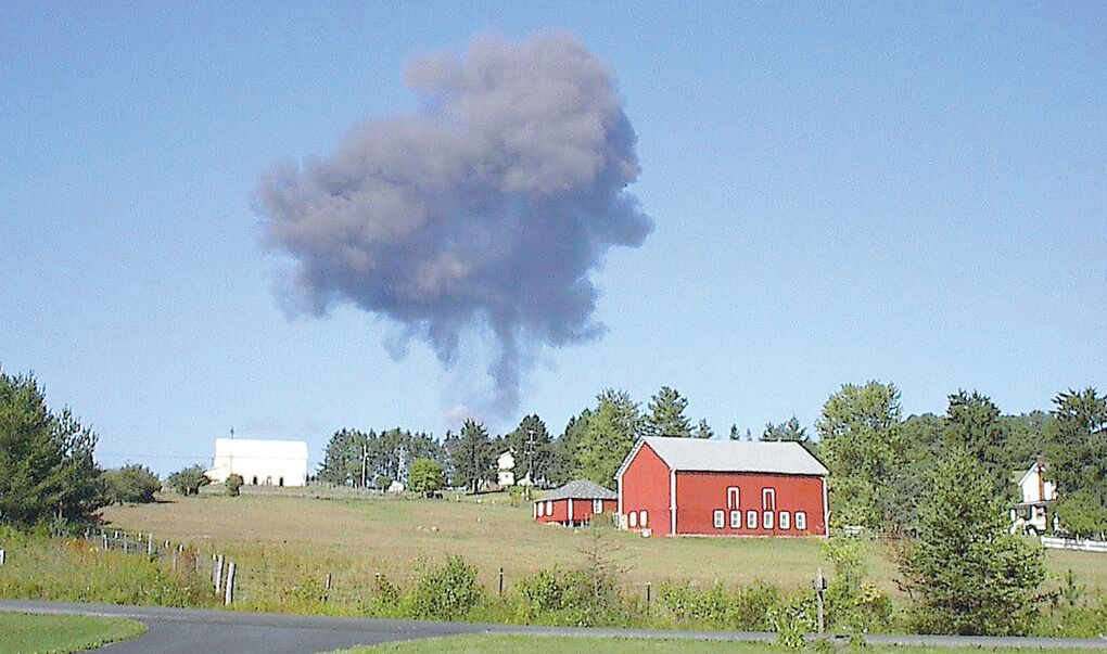 Flight 93 Crash Bodies Crash of United Flight 93