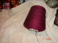 wool and silk yarn
