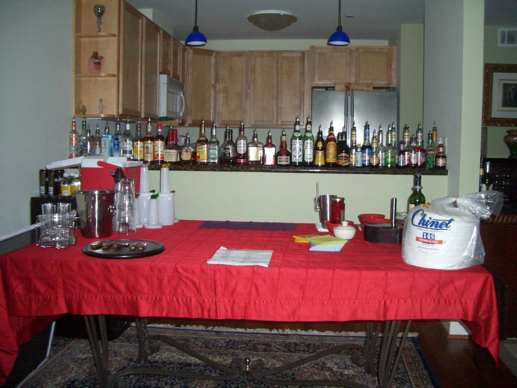 Behind The Bar Show: My first home bar setup