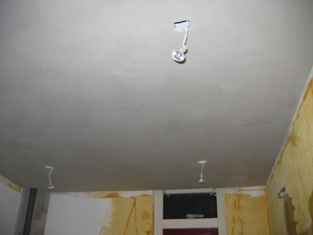 badkamer plafond witten