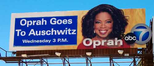 Oprah Happy to be at Auschwitz