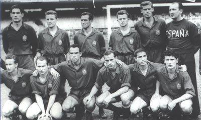 Resultado de imagen para España mundial de futbol 1950