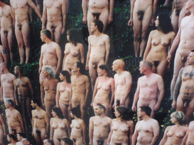 people naked Spencer tunick