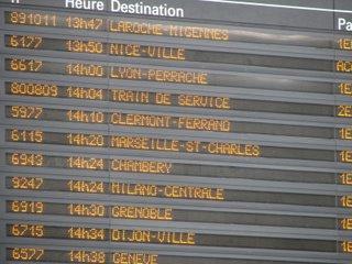 Paris to Provence aboard the TGV