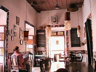 Hotel Venite, Panjim, Goa, India interior