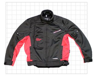 One of the Hit-Air riding jackets