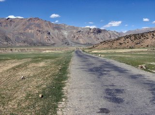 The road to Sarchu