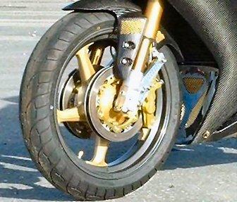 Quad front rotors