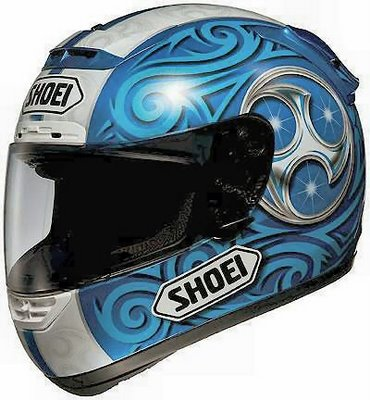 Shoei X-Eleven Kagayama Blue Replica
