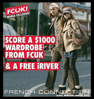 FCUK French Connection & iRiver Sale