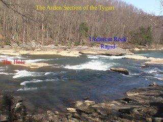 Low Water Playspot on the Arden Section of the Tygart