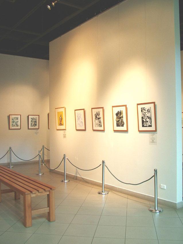 Comics para las masas muestra instalada en la sala de for Sala 7 concepcion