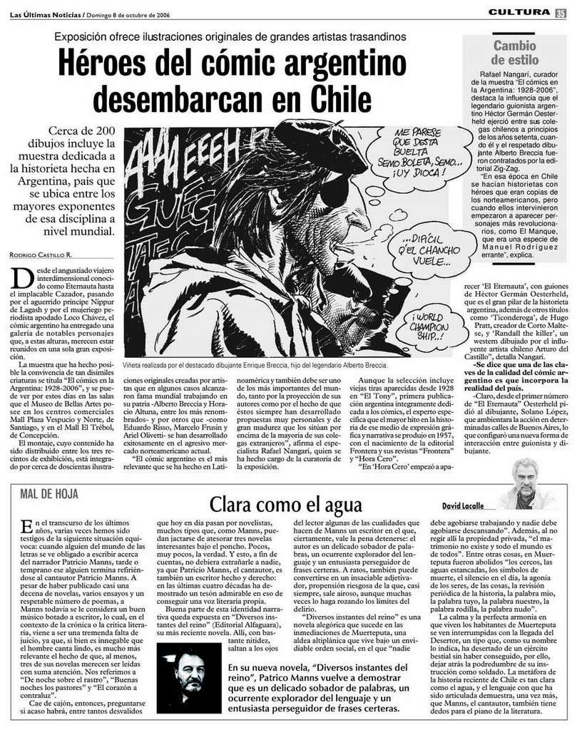 Comics para las masas for Ultimas noticias dela farandula