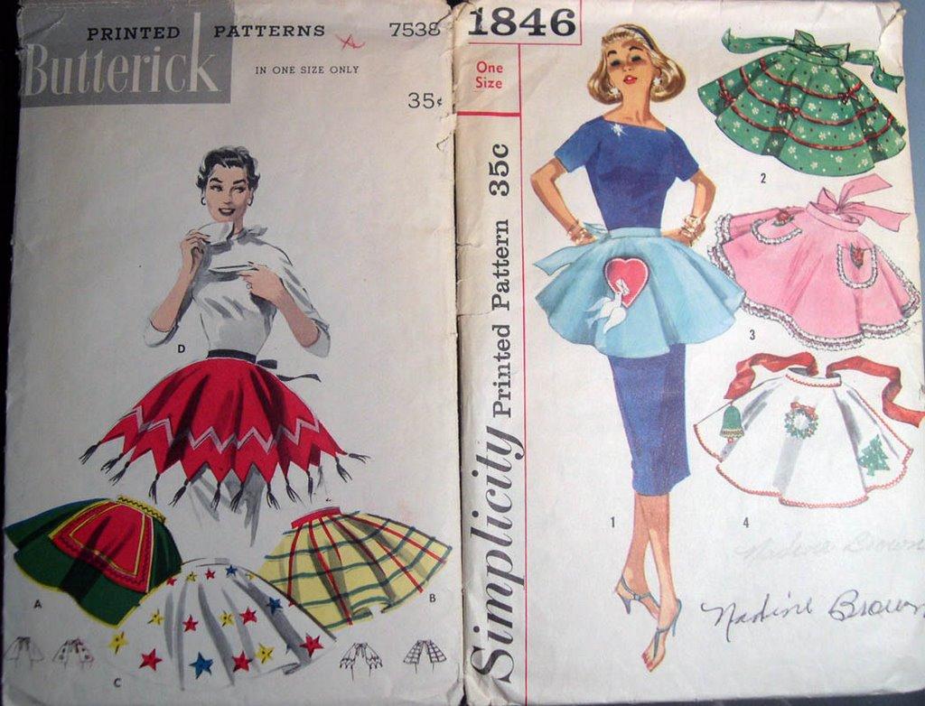 Vintage Apron Patterns Magnificent Inspiration Ideas