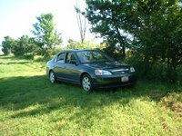 2001 Honda Civic EX Sedan, 4-speed, Green