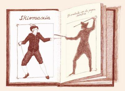 Skiomaxia, por Diana Benzecri.