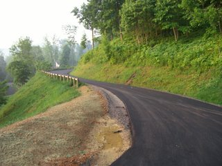 The subdision where I work is finally getting paved. Yay!
