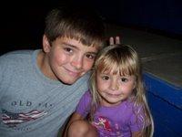 The kiddos at the rodeo