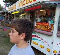 Tyler Hangin By The Nacho Stand