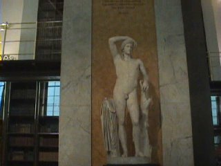 Statue of a Naked Guy