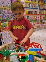 Child in Toy Shop