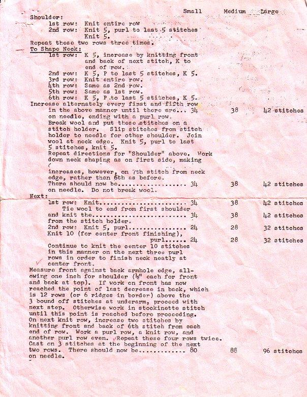 Rabid Knitter Wwii Red Cross Pattern