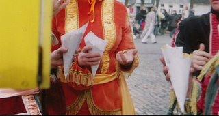 Carnaval de Malmedy. Haguettes mangeuses de frites.