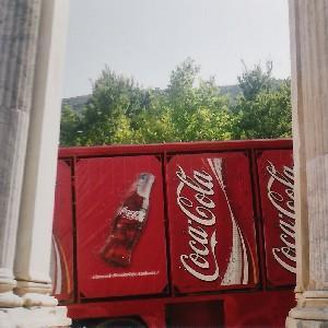 Ephèse, Turquie. Soif Antique de Coca Cola.